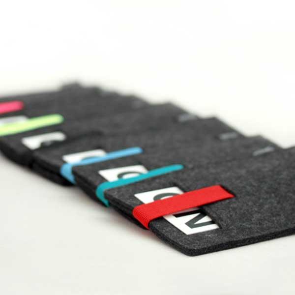 nolimit handyhülle sleeve cards wololfelt