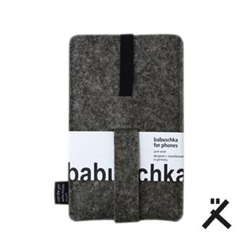 babuschka filz iphone