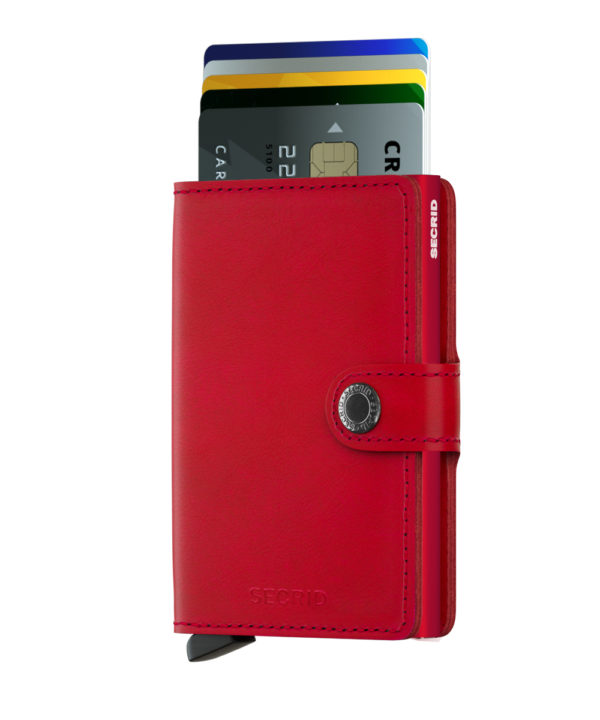 secrid miniwallet red not the girl who misses much