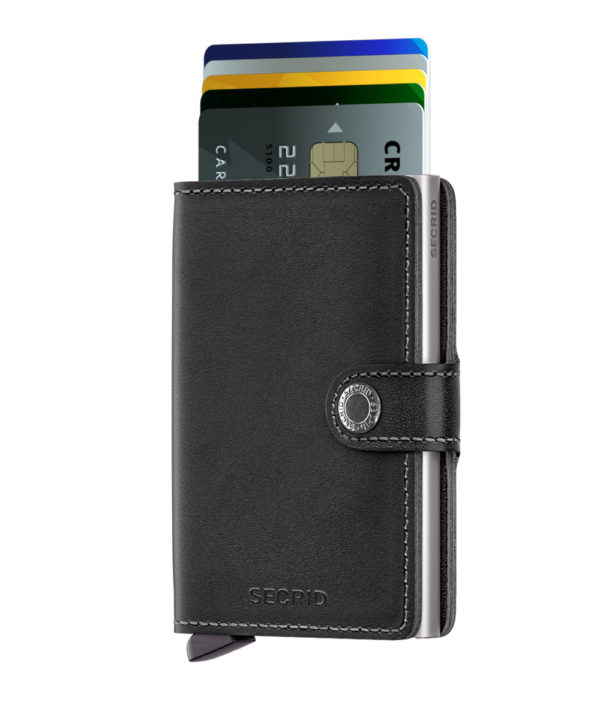 secrid miniwallet original black not the girl who misses much