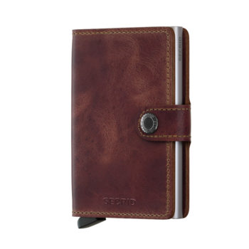 secrid miniwallet vintage brown not the girl who misses much