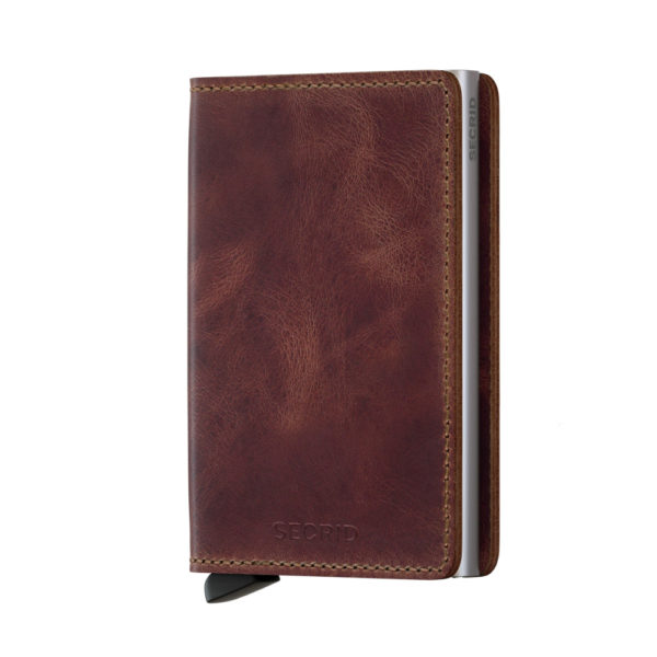 secrid slimwallet vintage brown not the girl who misses much