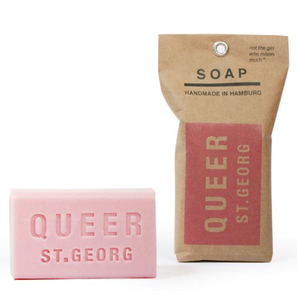 queer st.georg seife viertelseife