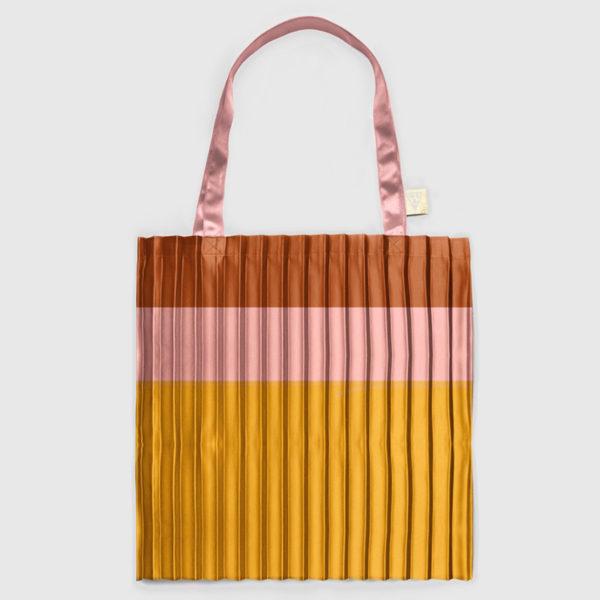 plissee-tasche-tote-bag-bronze