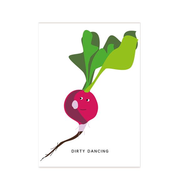 postkarte-dirty-dancing-radieschen