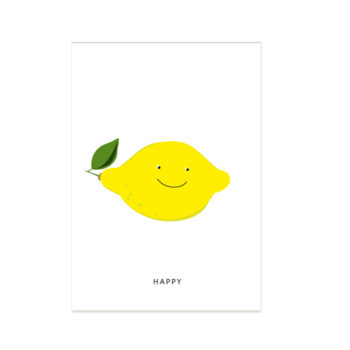 postkarte-happy-zitrone