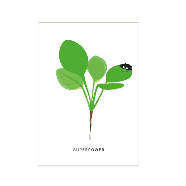 postkarte-spinat-superpower
