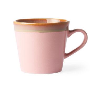 hk living cappuccino-mug-pink