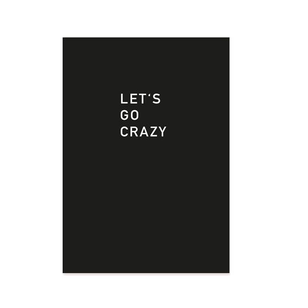 lets-go-crazy-postkarte