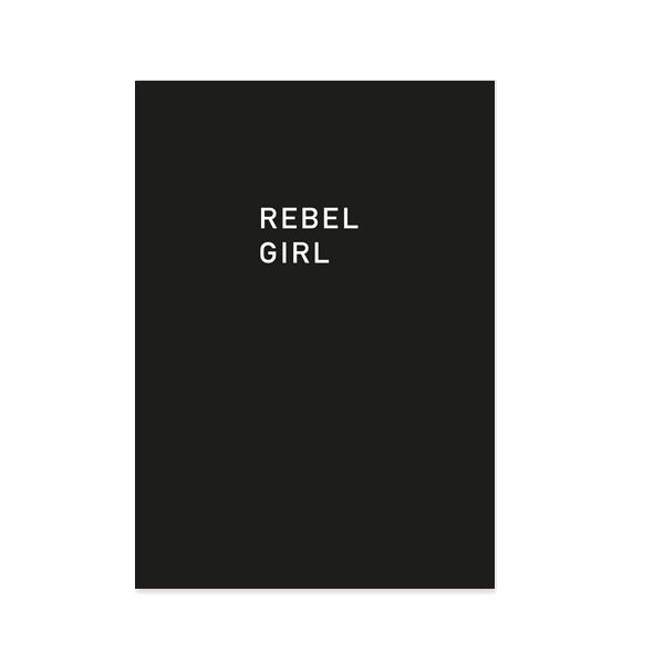 rebel-girl-postkarte