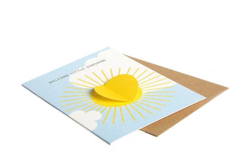 sonne-welcome-little-one-klappkarte