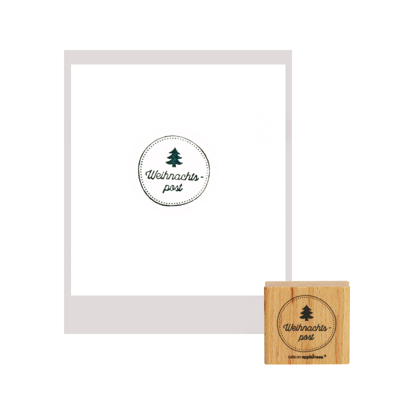 stempel-cats-on-appletrees-weihnachtspost
