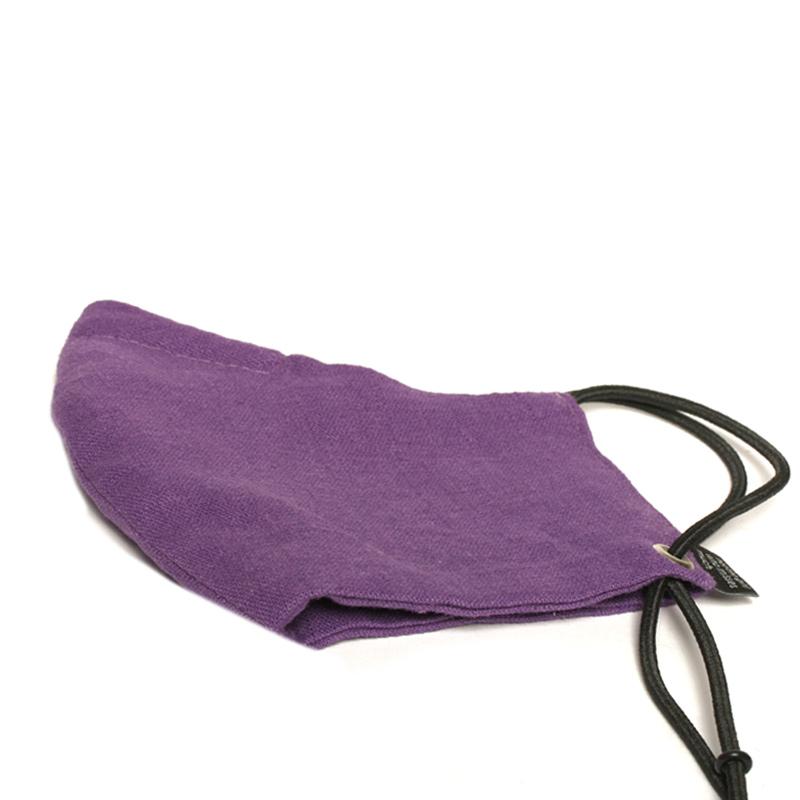 maske-purple-m-leinen