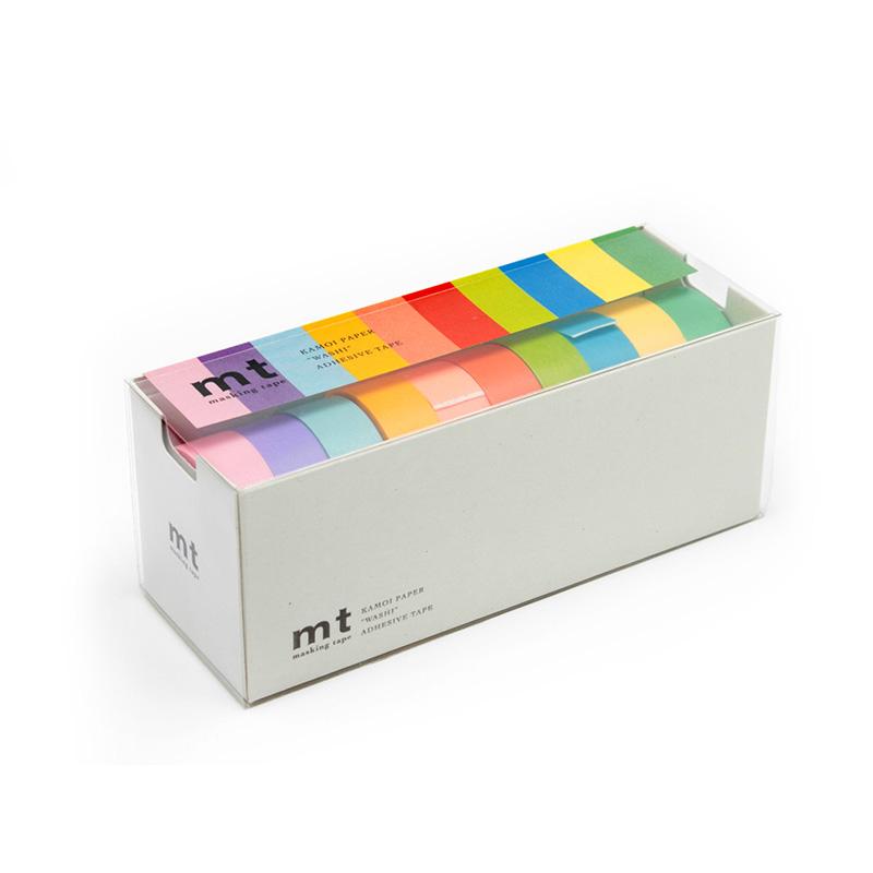 MT Tape 10er Set Kleberollen Helle Farben