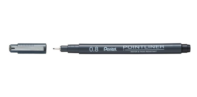 pentel not the girl who misses much