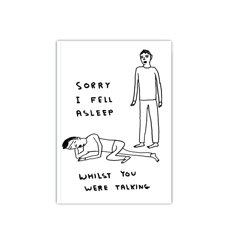 david shrigley not the girl who misses much